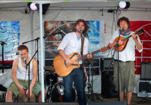 The Sea Kings at Brockley Max 2014