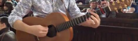 photo of Richard Swan's stolen guitar